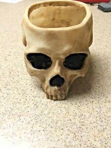 Skeleton Half Skull Bowl