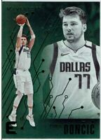 2019-20 Panini Chronicles Essentials Luka Doncic GREEN Parallel #206