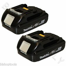 2pc Makita BL1820 Genuine 18V Lithium-Ion 2.0Ah Battery Pack NEW 36Wh 1830