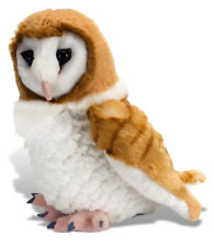 "Wild Republic Cuddlekins 12"" Barn Owl Plush Soft Toy Cuddly Teddy 13466"