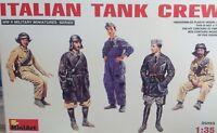 ITALIAN TANK CREW - SCALA 1/35 - MINIART 35093