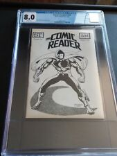 Comic Reader 126 CGC 8.0 (white pages) Preview of Marvel Spotlight 28