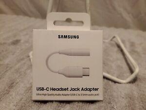 GENUINE Samsung USB-C to Headphone Headset Jack Adapter EE-UC10JUWEGUS OPEN BOX