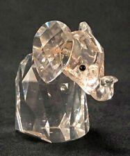 Vintage Swarovski Silver Christal Elelphant Max Schreck Design, Retired 1982