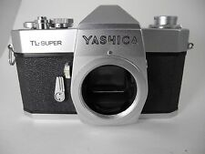 YASHICA  TL- SUPER CAMERA NICE LOOKING SHUTTER WORKS ON HIGH END SLOW SPEEDS SKY