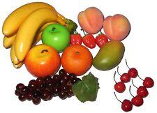 Set per decorazione composto da 18pezzi artificiali di frutta finta (k1k)