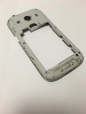 ! original Samsung Galaxy Ace 4 g357f marco intermedio Middle CASE CARCASA plata