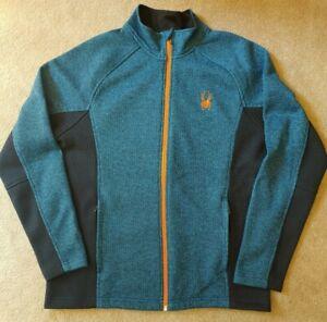 Men's Spyder Constant Full Zip Stryke Fleece Jacket Sweater - Size L