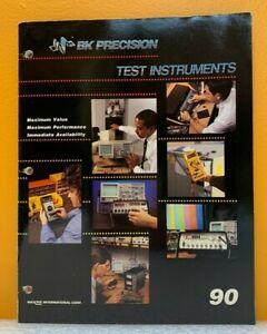 BK Precision / Maxtec 1990 Test Instruments Catalog.