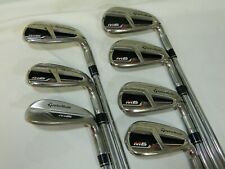 TaylorMade M6 5-AW Iron Set - KBS MAX 85 Regular Steel Irons Used RH 5-P+AW M-6