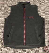 Vintage 90s ABERCROMBIE & FITCH Fleece Vest Full Zip Size Large