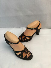 Aerosoles Pose Garden High Heel Ankle Strap Adjustable Sandals Womens Size 6.5 M