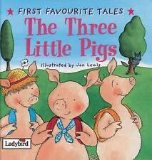 First Favourite Tales: Three Little Pigs, Ladybird | Hardcover Book | Good | 978