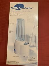 *NEW* SEALED GERM TERMINATOR TOOTHBRUSH SANITIZER STEAM STERILIZATION