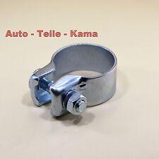 Auspuffschelle für Abgasanlage , Bandschelle , Schelle / Clamp  Ø 46,7 mm