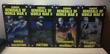VHS: 4-VIDEO FAMOUS GENERALS OF WORLD WAR II RARE VINTAGE