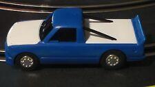 Artin 1:43 Slot Chevy Silverado Racer Roll Bars Blue   W/Working headlights