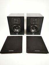 Vintage WHARFEDALE Diamond III 3 100W Bookshelf Speakers Pair Hifi Speaker Black