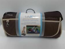 Lulyboo Blanket Easy Roll Up Baby Travel Blanket Brown