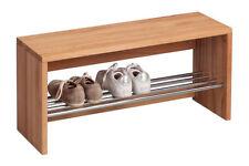 Bänke mit Aufbewahrungsfächern aus Buche für die Küche