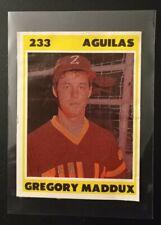 1987-88 Venezuelan Winter League Sticker Greg Maddux #233 Rookie Card