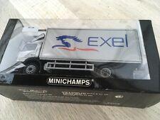 Mercedes benz 1828. Bakwagen  exel. Minichamps schaal. 1 43
