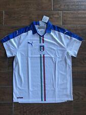 Puma Italy Italia Euro 2016 DryCell Away Soccer Jersey White / Royal 2XL MSRP$90