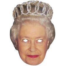 Queen Elizabeth Face Mask Celebrity Royal Wedding Fancy Dress Hen Party Fun