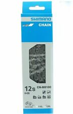 Shimano XT CN-M8100 SIL-TEC 1x12 2x12 Speed Chain w/Quick Link 1 Pair 126 Links