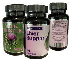 Advanced Liver Cleanse & Detox Supplement capsules extra Absorption