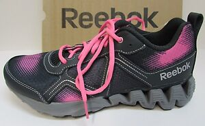 Reebok Size 6.5 Zigtech Pink  Sneakers New Girls Shoes
