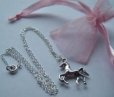 Equitazione Rider Pony Collana Equestre Equino Regalo Party Borsa Filler favore