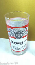 Budweiser beer glass barware drinking Anheuser-Busch brewery bar tavern pub IB7