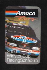 Winston Cup--2000 Pocket Schedule--Amoco