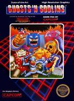 Nintendo NES Spiel - Ghosts 'n Goblins US Modul