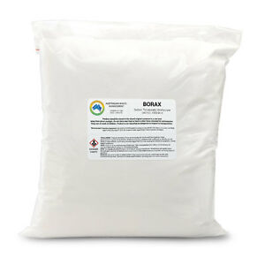 Borax 400 Gram bag 99.9% Pure Natural From Turkey Packaged in Australia