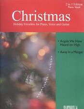 Christmas 2 in 1 Piano Vocal Sheet Music Away In A Manger Angels We Have Heard