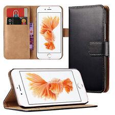 Book Case für iPhone XS Max XR X 8 Plus 7 6S Handytasche Schutzhülle Handyhülle