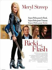 Affiche 40x60cm RICKI AND THE FLASH 2015 Jonathan Demme, Meryl Streep NEUVE