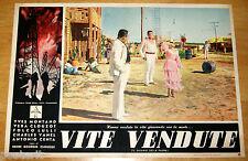 fotobusta film LE SALAIRE DE LA PEUR - VITE VENDUTE Clouzot Montand Vanel 1955