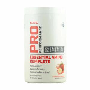 GNC Pro Performance EssentialAminoComplete 30 Servings Strawberry BananaEX:10/21