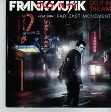 (CV506) Frankmusik, Do It In The AM ft Far East Movement - 2011 DJ CD