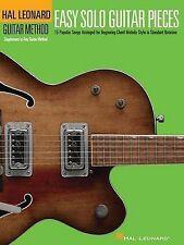 Easy Solo Guitar Pieces - Hal Leonard Guitar Method Supplemental Songbook (Hal L