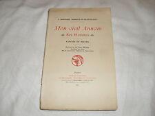 """mon vieil annam """"ses hommes"""" contes et recits ,p sauvaire , ed coloniales,1927"""