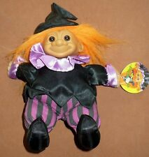"""Russ 7"""" Troll Witch Soft Body Doll Great Condition With Tag"""