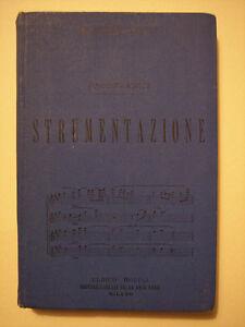 Prout, E.: STRUMENTAZIONE,  prima ediz. 1892 MANUALI HOEPLI (musica, strumenti)