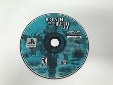 Breath of Fire IV 4   - Sony Playstation 1 PS1 PS ONE - Disc only -