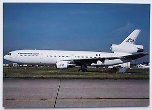 AOM Air Outre Mer Douglas DC10-30 Postcard