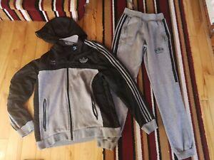 Adidas Team full Tracksuit Jacket Medium Mens Bottoms Small Mens fleeced