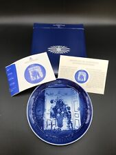 Royal Copenhagen 2000 Trimming The Tree Collectors Plate New In Box With Coa